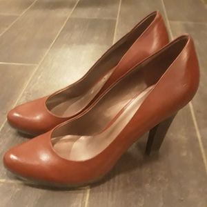 Shoes - Womens Red Pumps Heels 8.5